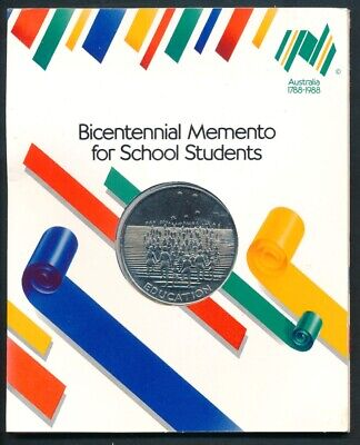 Australia: 1988 Official Bicentennial Large Medal For School Students. 38mm UNC