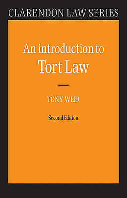 Introduction to Tort Law (Clarendon Law Series)