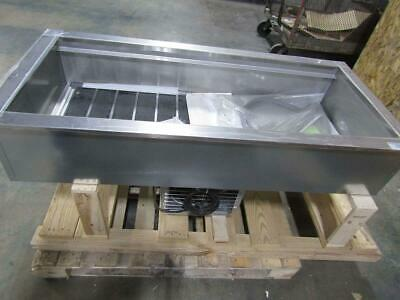 Delfield 4 Pan Drop In Refrigerated Cold Food Well N8156B