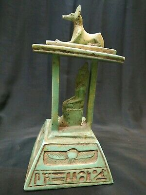 Rare Antique  Anubis Ancient Egyptian God of the Afterlife Figurine Bc