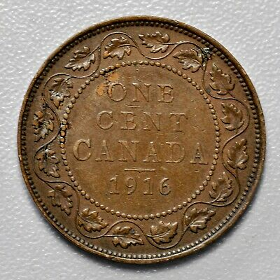 Canada Large Cent - 1916 ++ High Grade!! ++ [944-24]