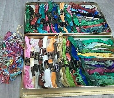 Collection Of Anchor Embroidery Threads