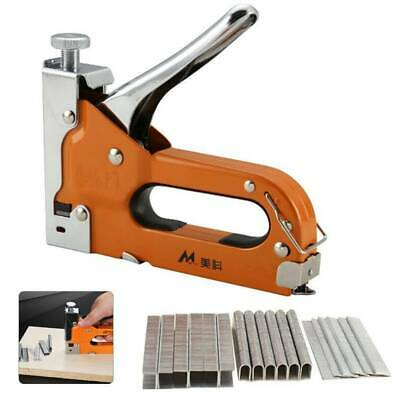 Perfect Heavy Duty Staple Gun 3 In 1 Stapler Tacker With 500 Staples Upholstery