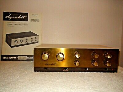 Vintage Dynaco Pas 2 Stereo Tube Preamplifier Preamp Working