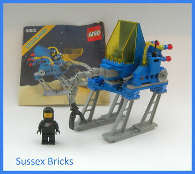 Lego Classic Vintage Space 1985 - 6882 - Walking Astro Grappler - Complete