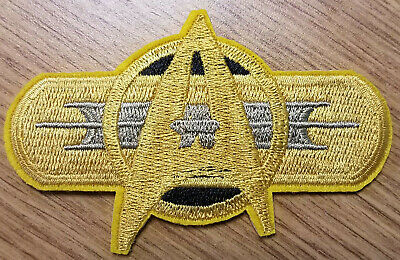 Star Trek Starfleet Federation Movie Insignia Uniform Patch 3 1/2 inches wide