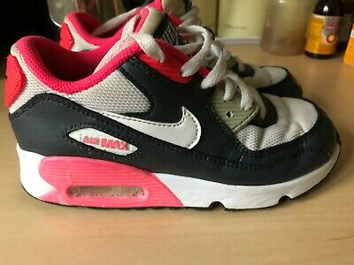 Girls Nike Air Max 90 Trainers Size 13