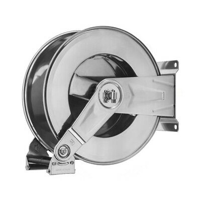 20 Metre Stainless Steel High Pressure Retractable Hose Reel Jet Power Washer