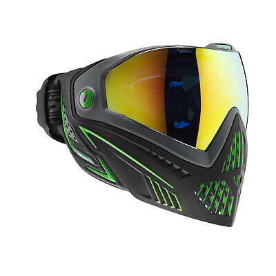 1 Masque Paintball DYE I5 INVISION Emerald Black / Lime NEUF DESTOCKE