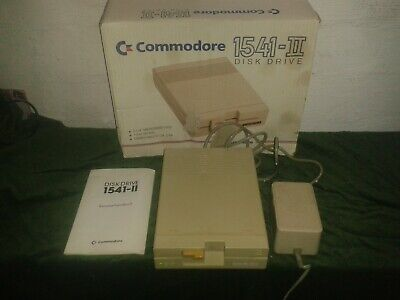 Commodore 1541 II ( mit OVP ) Volle Funktion