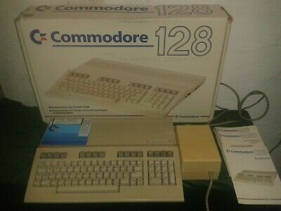 Commodore C-128 ( Serial 294751 ) Mit OVP  volle Funktion