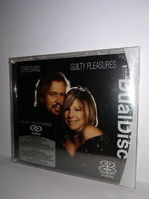 Barbra Streisand Guilty Pleasures Dual Disc Cd Dvd Nuovo Sigillato