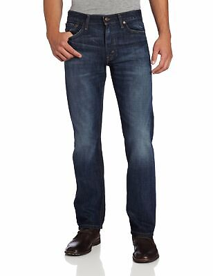 Levi's NEW Blue Mens Size 32x30 Slim-Fit Straight-Leg Stretch Jeans $69 155