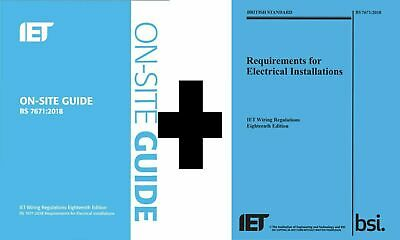 IET BS 7671 2018 On-Site Guide + Electrical Installations [PDF] Guide Book