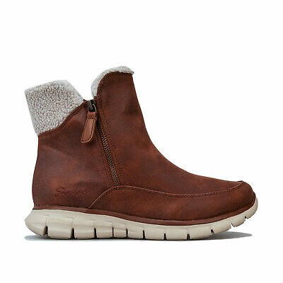 Skechers Boots Synergy Collab Châtaigne Femme