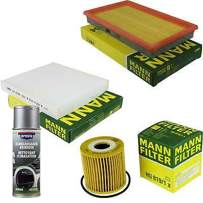 Mann-Filter Package + Preso Air Cleaner for Nissan Tino V10
