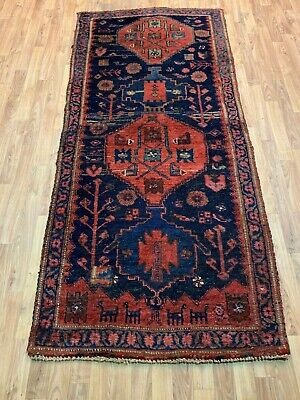 ANTIQUE  HANDMADE TRADITIONAL ORIENTAL RUNNER (217 x 96 cm)