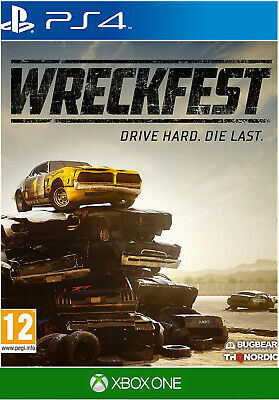 Wreckfest PS4 / Xbox One Game - Brand New and Sealed