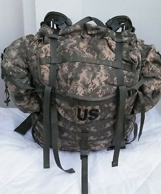 US Military MOLLE II RUCKSACK - COMPLETE: PACK + FRAME + BELT + STRAPS + POUCHES