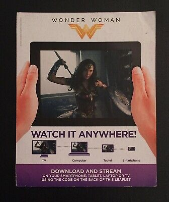 Wonder Woman (2017) HD - UV Google Play Code
