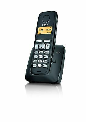 Gigaset A125 Single DECT Digital Cordless Home Phone (Black)