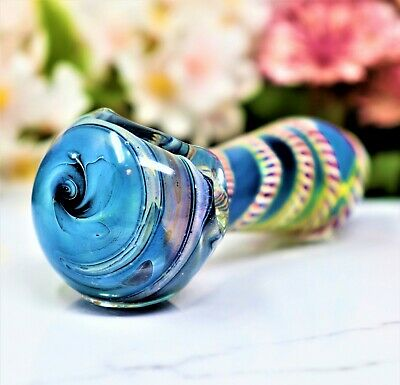 """4"""" Extra Hard Glass Collectible Tobacco Smoking Herb Bowl Hand Pipes"""