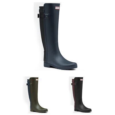Ladies Hunter Original Refined Back Strap Wellies Rain Winter Boots All Sizes