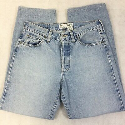 Vintage 90s Abercrombie & Fitch Women's 6 High Waisted Tapered Leg Mom Jeans VTG
