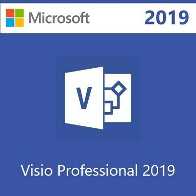 Microsoft Visio Professional 2019 License Key 5 PCs With Download Link 🔥