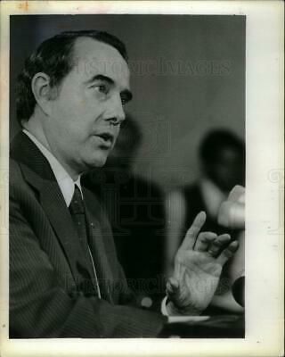 1981 Press Photo Bob Dole American attorney