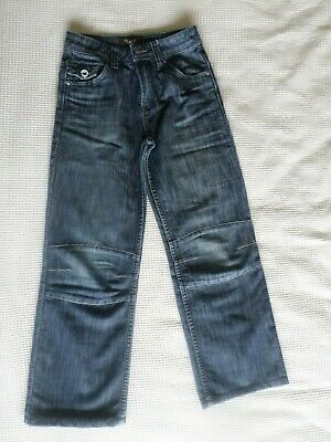 Boys blue classic jeans age 10 years St. George by Duffer v. good con