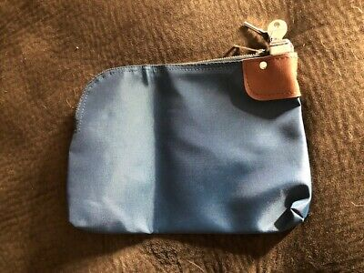Security Money Bag with Lock and Keys