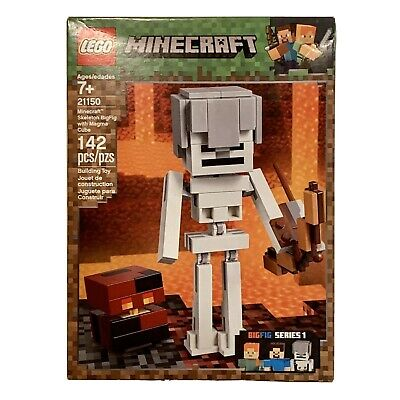Skeleton Bigfig with Magma Cube 21150 FREE DELIVERY NEW Lego Minecraft