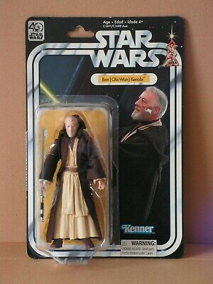 STAR WARS 6-inch Obi-Wan Kenobi MOC 40th Anniversary Collection OTC TVC TLC