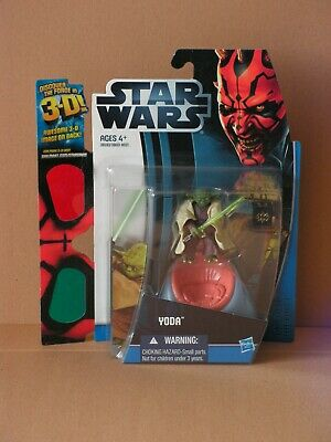 STAR WARS Discover The Force Yoda MOC mit 3D Brille TBS TVC OTC