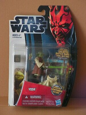 STAR WARS Movie Heroes Yoda MOC TSC TLC TBS TVC OTC vintage Character