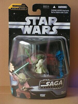 STAR WARS Saga Collection #19 Yoda MOC TSC TLC TBS TVC OTC vintage Character