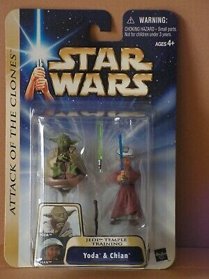STAR WARS The Saga Collection Yoda & Chian MOC TSC TLC TBS TVC OTC selten