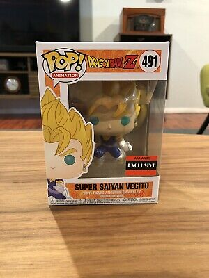 Funko Pop Dragon Ball Z Super Saiyan Vegito