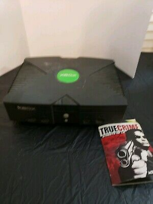 original xbox game system, system only