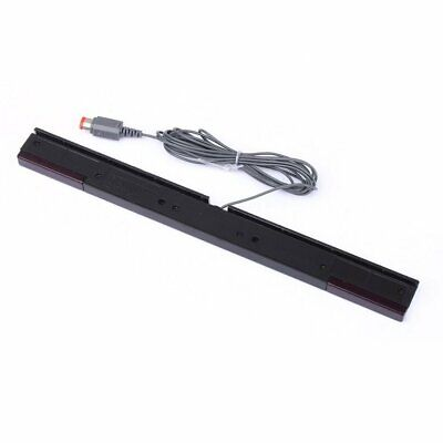 Wired Motion Sensor Remote Infrared Ray IR Inductor Bar For Nintend Wii KL