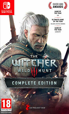 The Witcher III Complete Edition (Switch)  BRAND NEW AND SEALED - IN STOCK