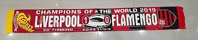 Liverpool v Flamengo Club World Cup Final Game Scarf - 21/12/19 - World Champs
