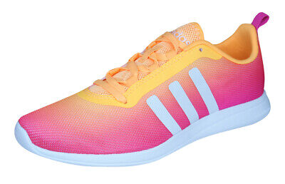 adidas Neo Cloudfoam Pure Womens Running Trainers Sports Shoes - Pink
