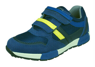 £59.95 Blue RRP Geox Boys Trainers J Sveth B.C Casual Comfortable Shoes