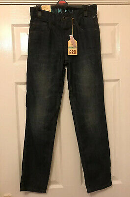 New Mens/ Boys  Next Slim Fit Denim Jeans Size 26 Short bnwt