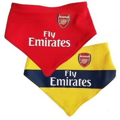Arsenal 2pk Baby Bib 2019/20