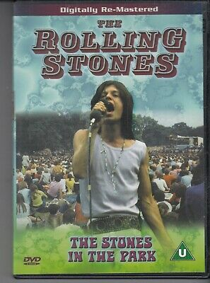 THE ROLLING STONES The Stones In The Park DVD freepostage worldwide region free