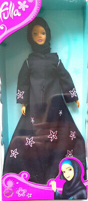 """Fulla 12"""" Middle East Islamic Doll With Outdoor Hijab Abaya /& Day Outfit Shoes"""