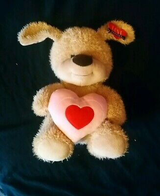 Teddy Bear With Heart Mothers Day Plush Gift Boy Girlfriend